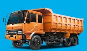 Dump Truck 10 ban biru