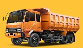 Dump Truck 10 ban kuning