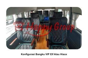 Konfigurasi Bangku VIP Elf Hiace