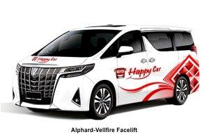 Alphard-Vellfire Facelift