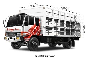 Fuso Bak Air Galon