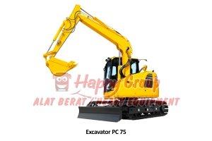 excavator 75
