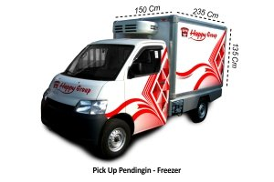 Pick Up Pendingin - Freezer