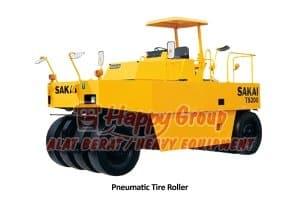 pneumatic tire roller