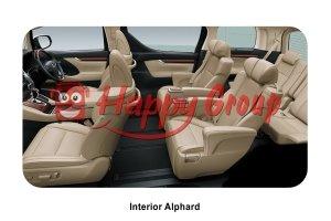 interior alphard