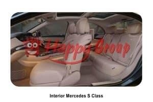 INTERIOR - Mercedes S Class