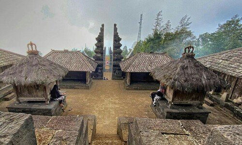 panorama candi cetho