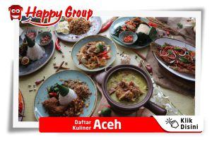 Daftar Kuliner Aceh