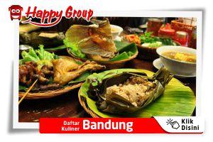 Daftar Kuliner Bandung