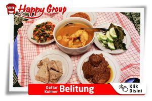 Daftar Kuliner Belitung