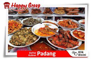 Daftar Kuliner Padang