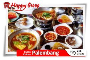 Daftar Kuliner Palembang