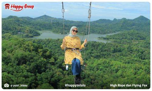 High Rope dan Flying Fox